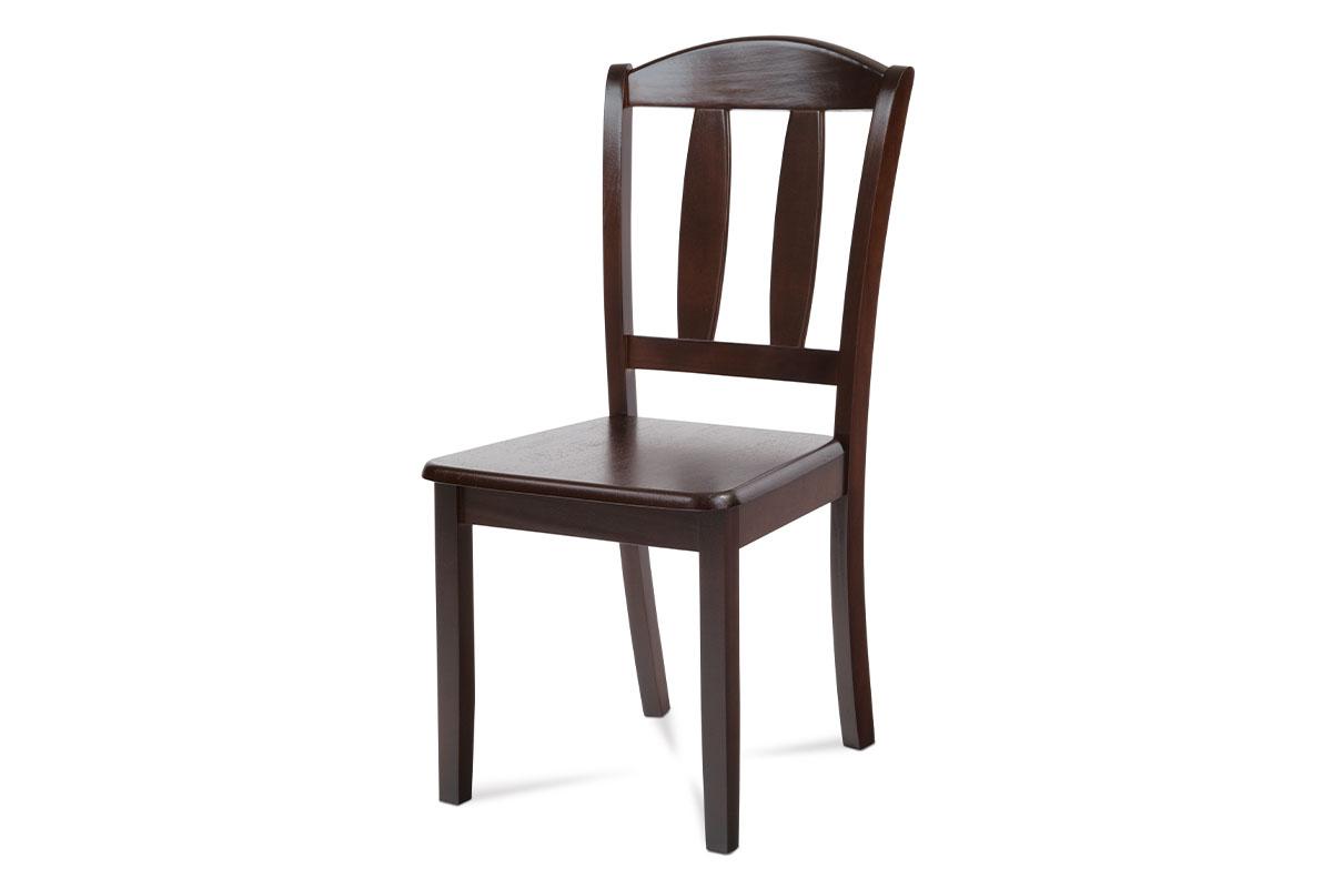 Autronic - Jídelní židle celodřevěná, barva ořech - SAVANA WAL