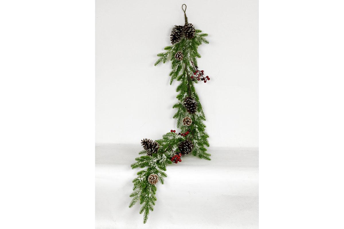 Autronic - Girlanda,umělá vánoční dekorace - SF1075
