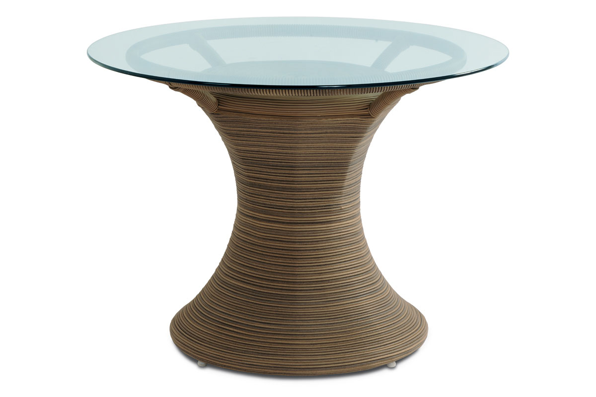 Autronic - Zahradní stůl, umělý ratan, BEZ SKLA - SOF048