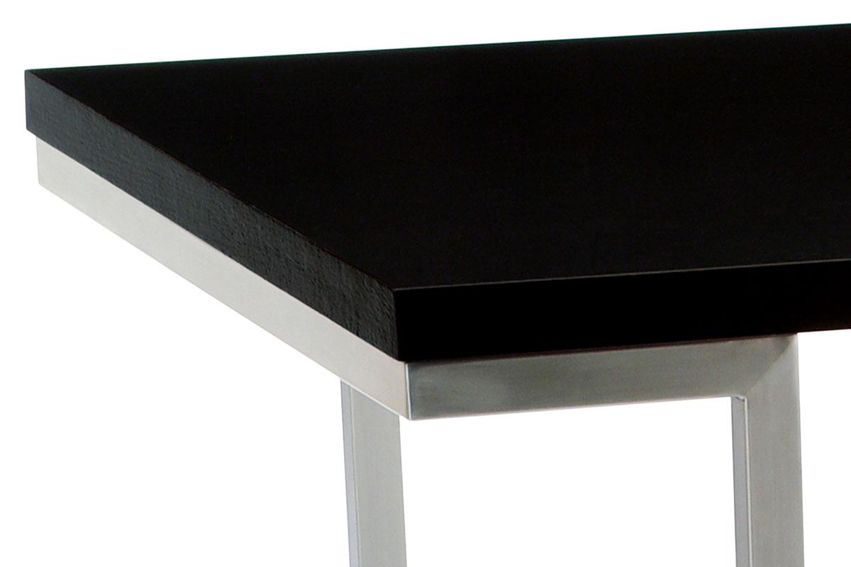 Jídelní stůl 180x90 cm - T-107 BK