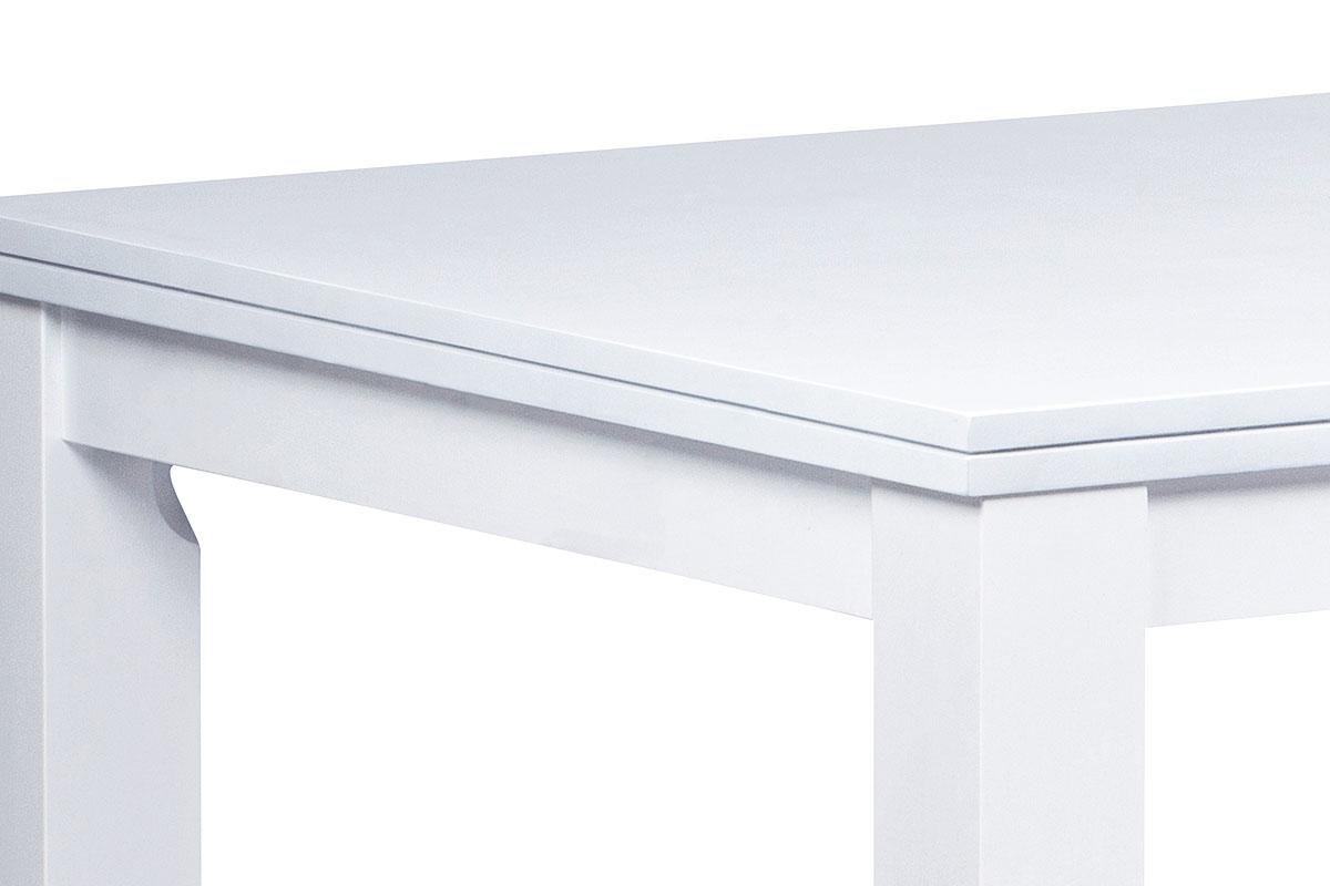 Jídelní stůl 150x90 cm, barva bílá - WDT-181 WT