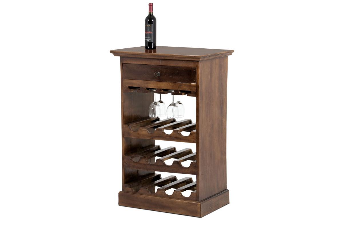 Autronic - Vinotéka, dekorační dřevořezba - WLD166