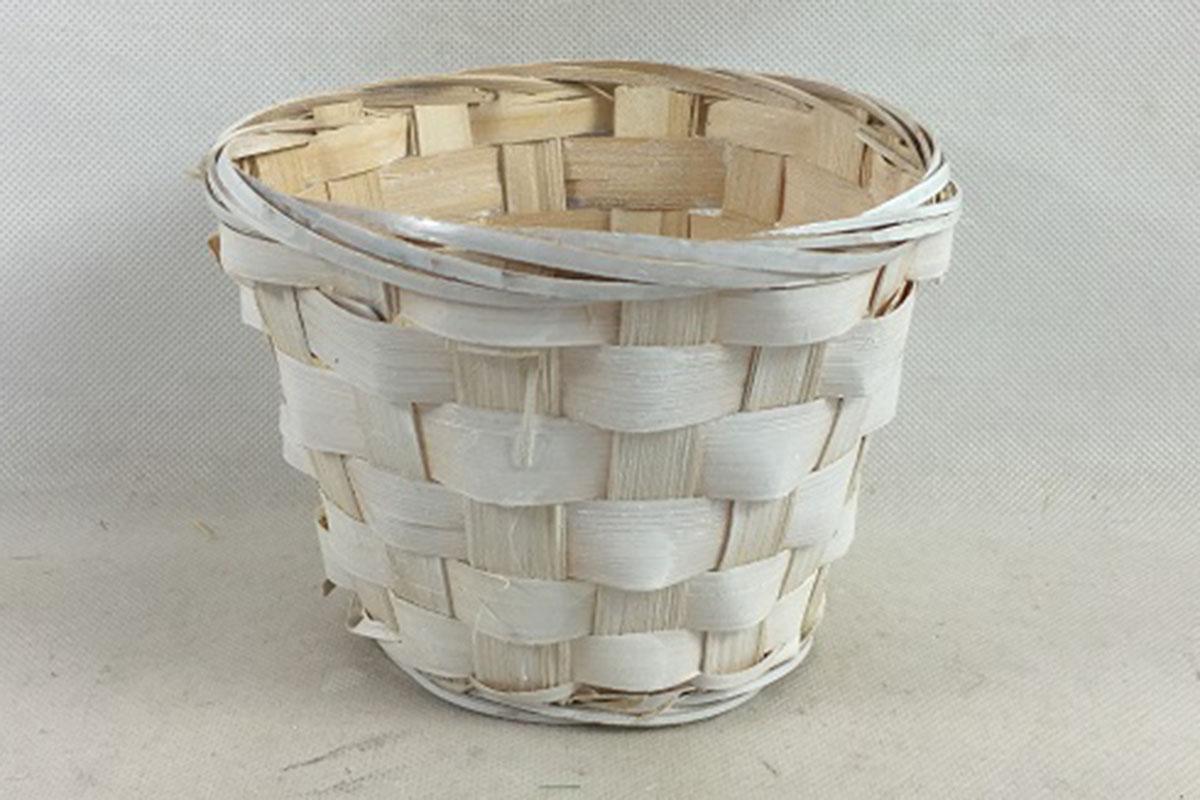 Autronic - Obal bambusový, barva bílá - XJ6100 WH