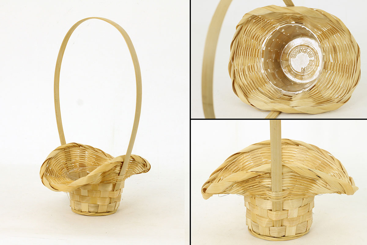 Autronic - Obal bambusový s uchem, přírodní barva - XJ6700 NAT