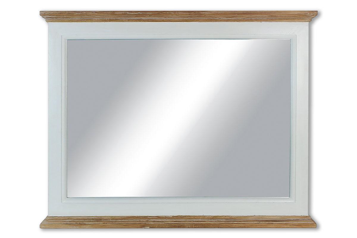Autronic - Zrcadlo, barva bílá antik a přírodní, - XT053