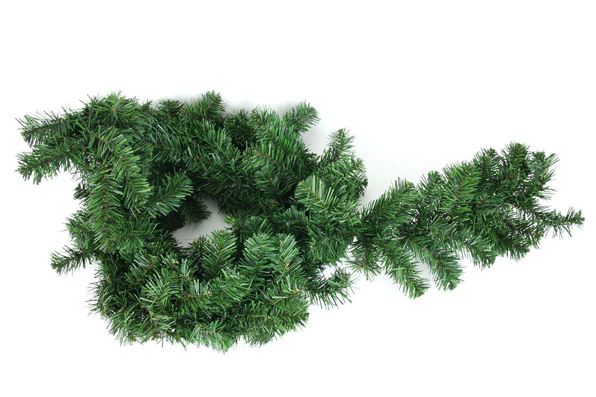 Autronic - Zelená girlanda z jehličí, 240 cm, dekorační. Květina umělá. - YS20-002