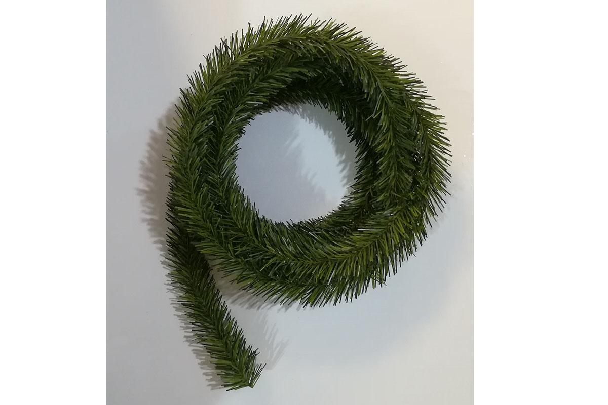Autronic - Zelená žinilka, umělá dekorace - YS20-027