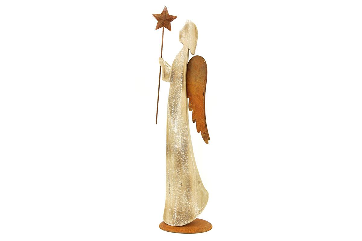 Autronic - Andělíček, dřevěná vánoční dekorace - ZA8616