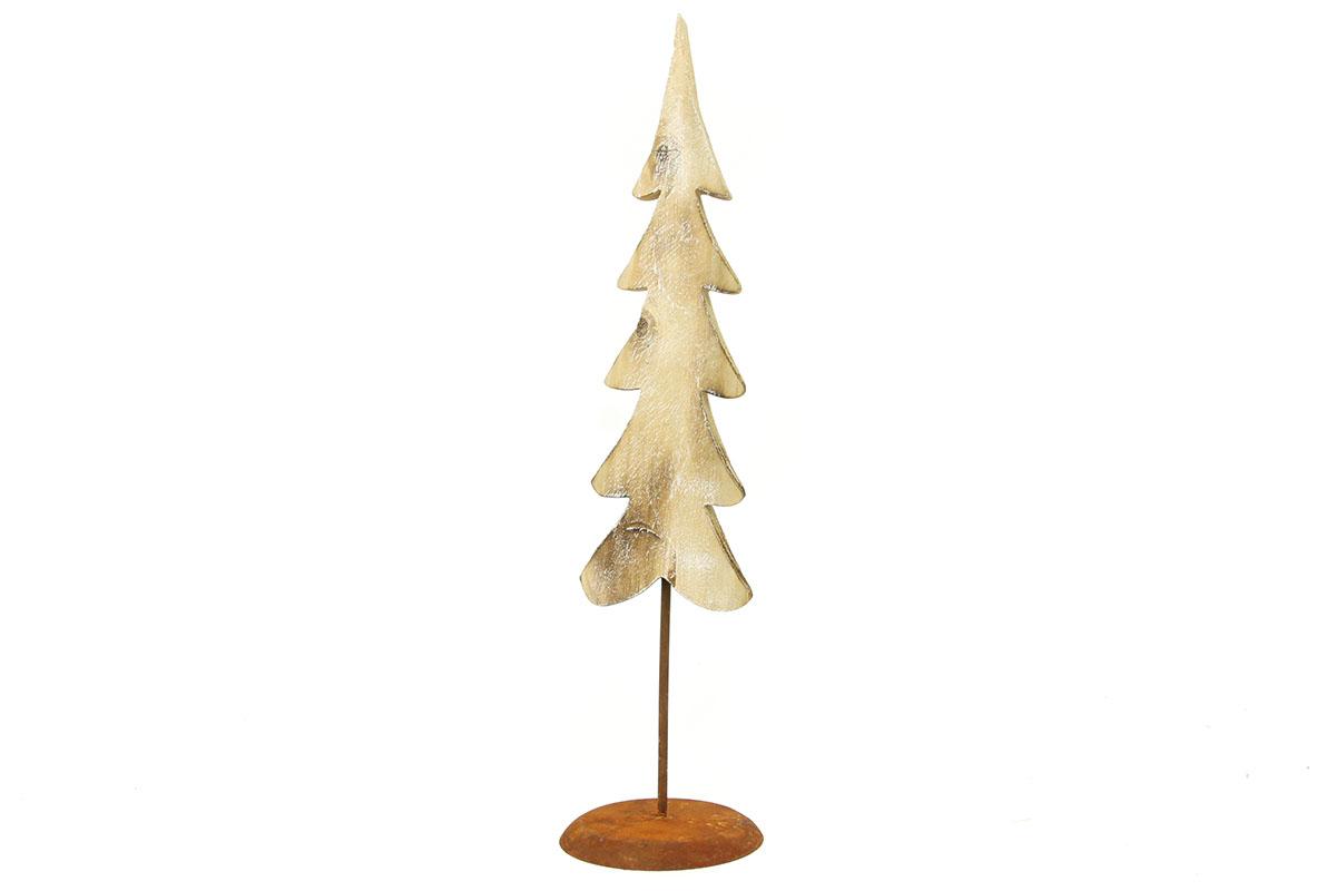 Autronic - Stromeček, dřevěná vánoční dekorace - ZA8620
