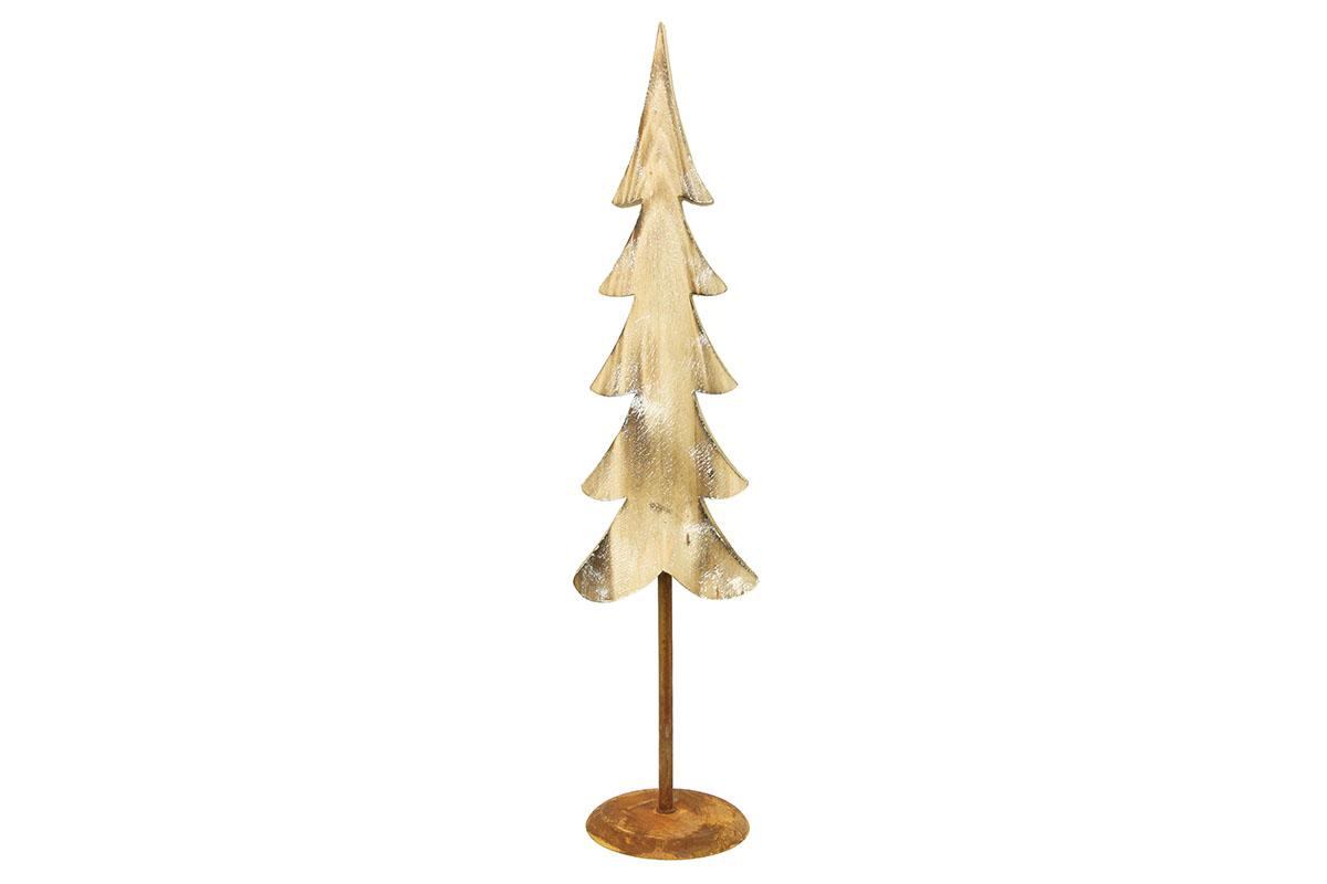 Autronic - Stromeček, dřevěná vánoční dekorace - ZA8621