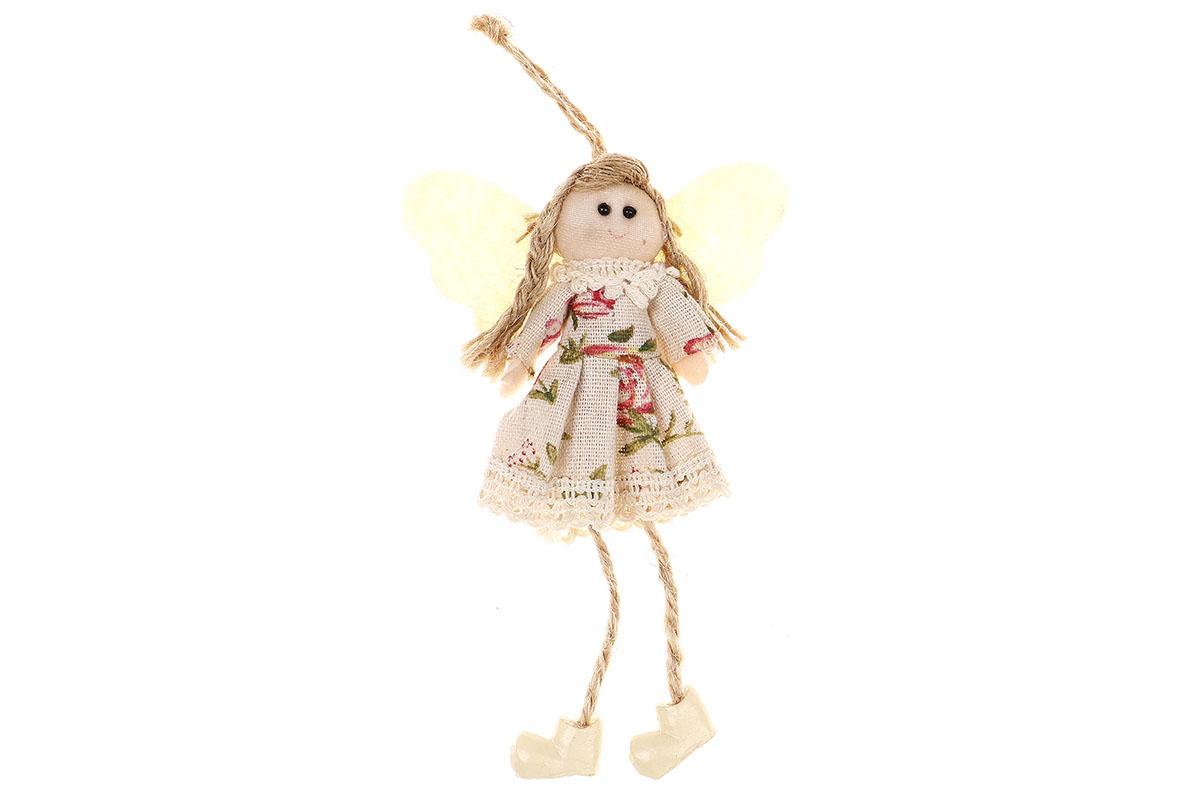 Anjelik, textilná dekorácia na zavesenie