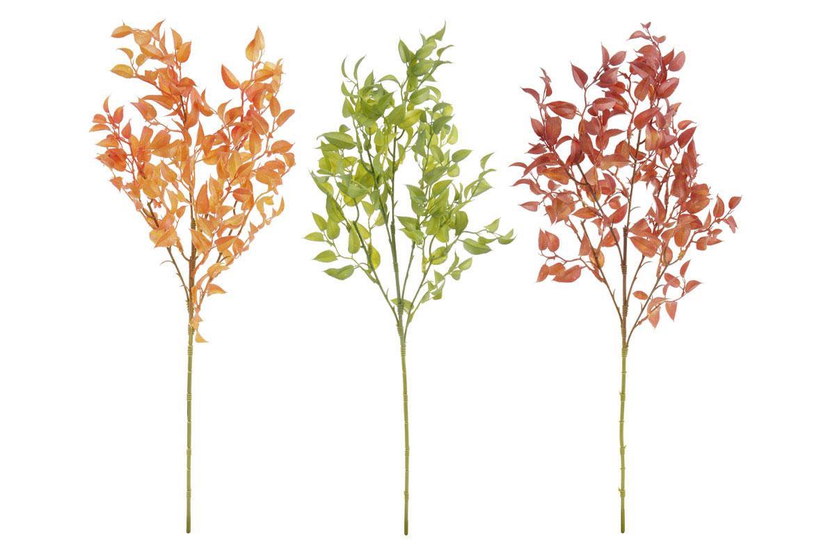 Větev, mix 3 podzimních barev.