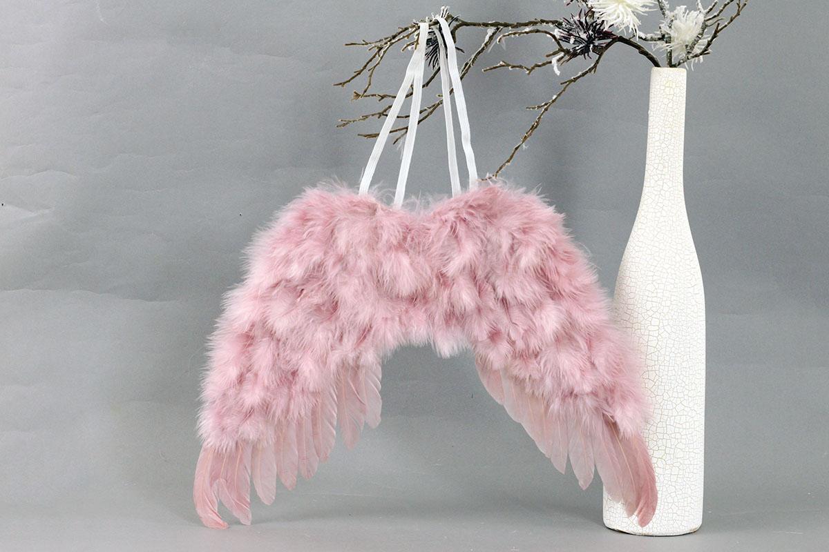 Anjelské krídla, farba ružová