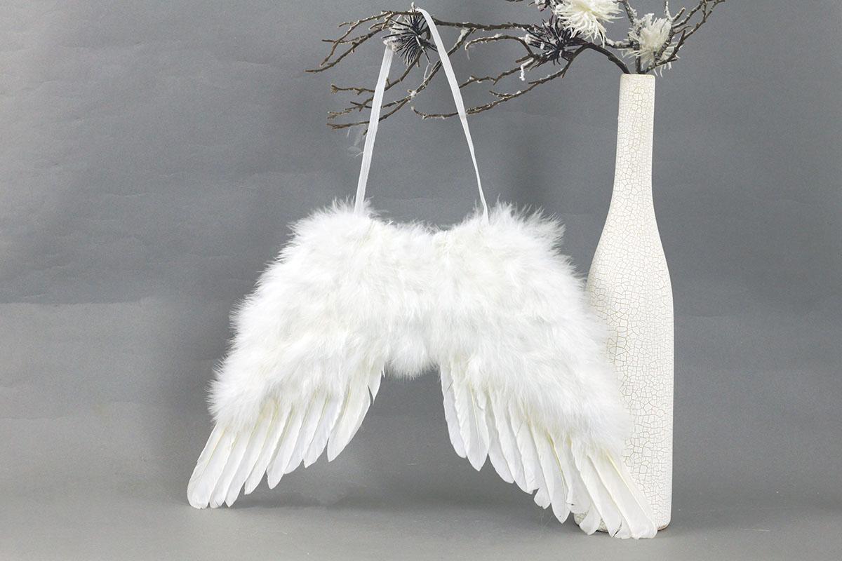 Anjelské krídla, farba  biela