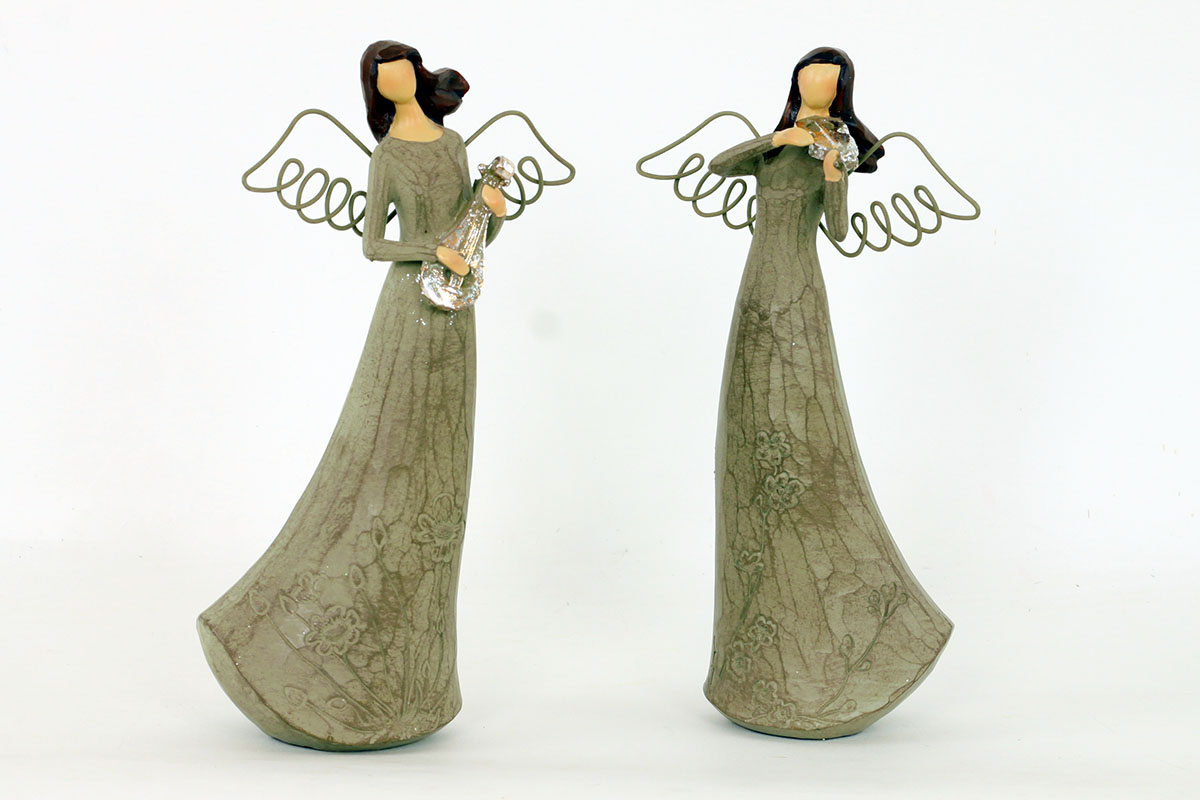 Anjel z polystounu
