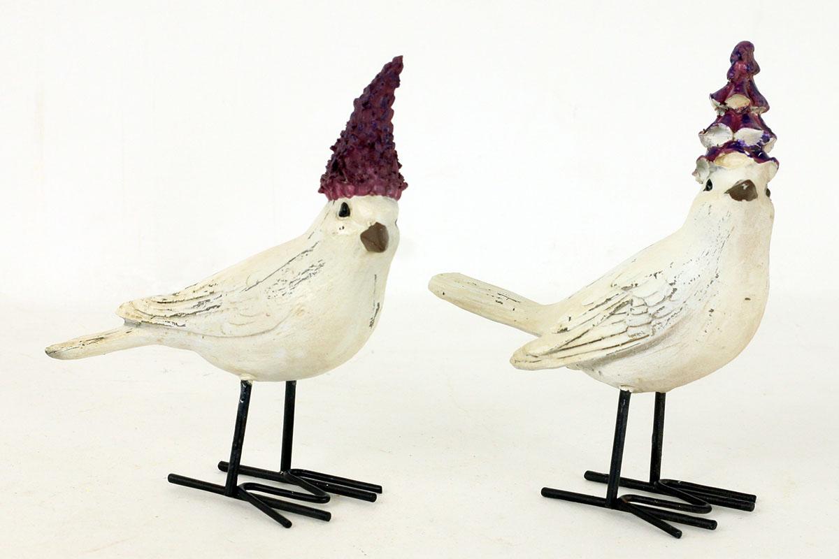 Ptáček stojící,mix 4 tvarů