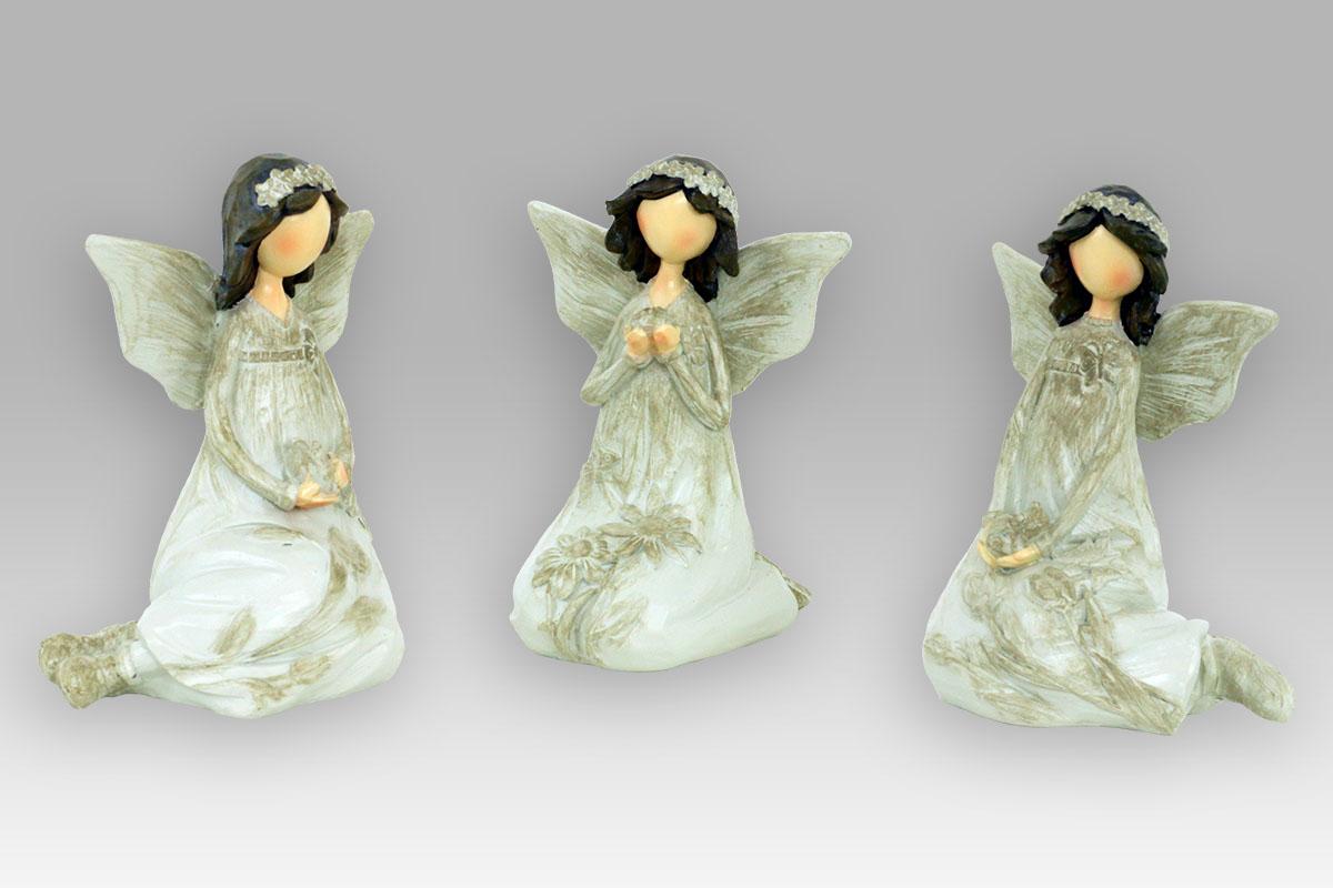 Anděl polyrezinový