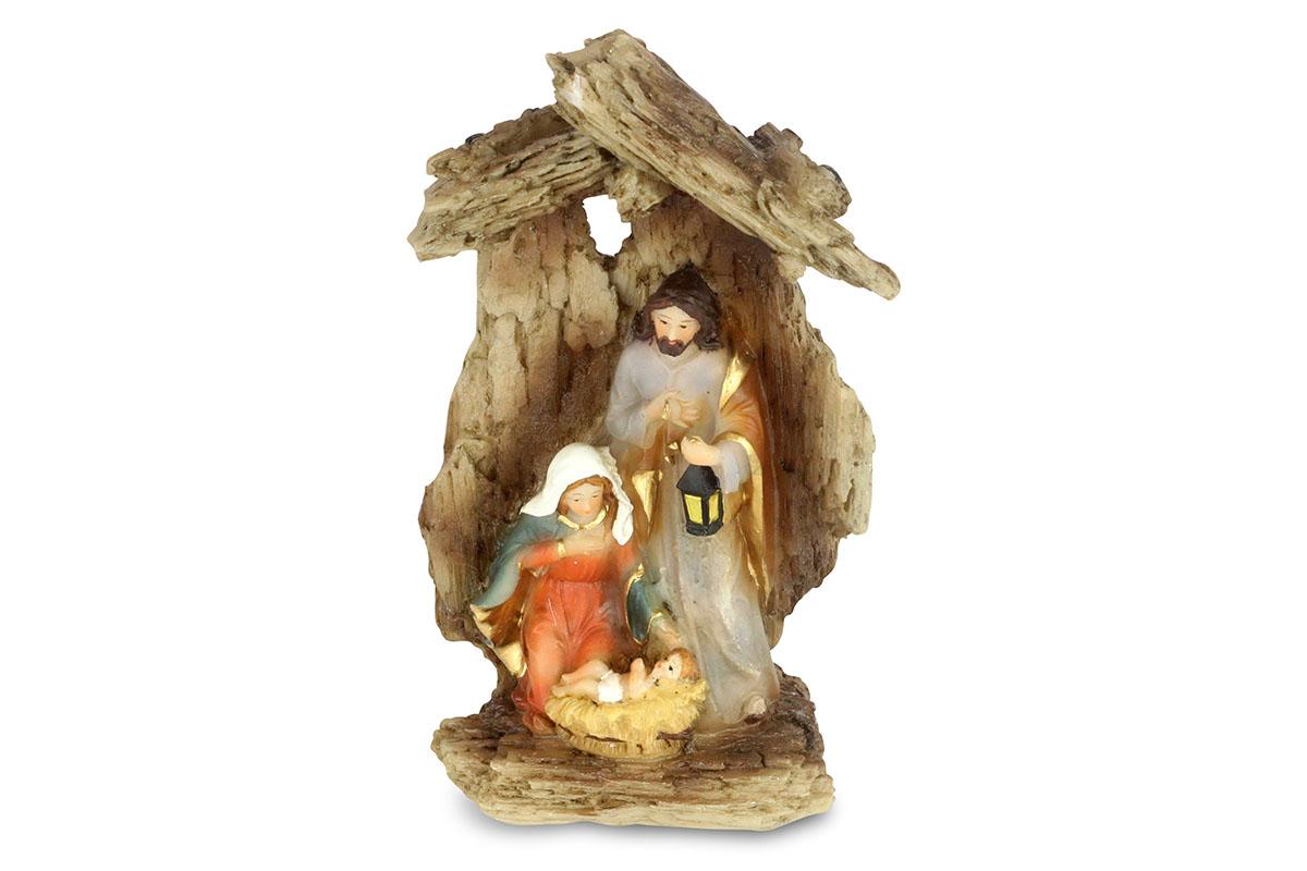 Betlehém, dekorácia z polyresinu