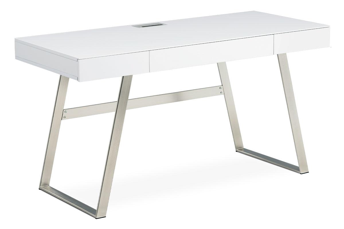 Kancelársky stôl APC-601 WT biela