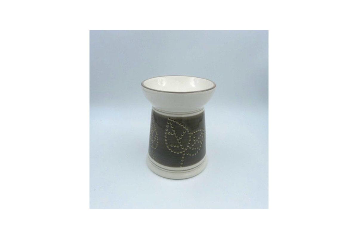 Aroma lampa keramická, barva šedá