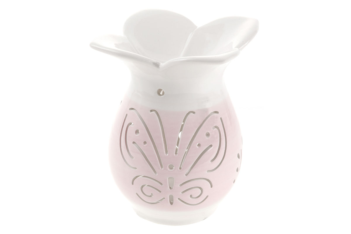Aroma lampa keramická, barva lila
