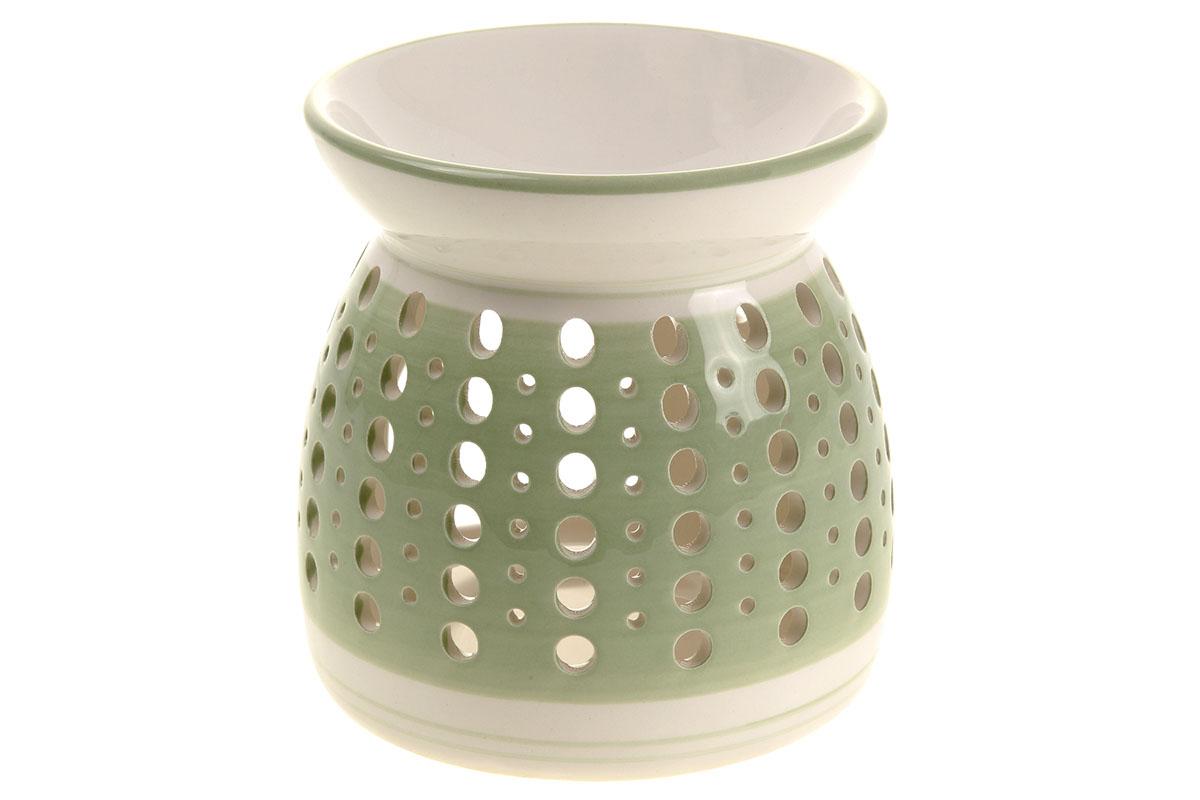 Aroma lampa keramická, barva zelená