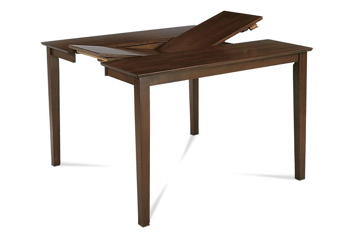 jedálenský stôl rozkl. 136+45x91x75 cm, farba orech