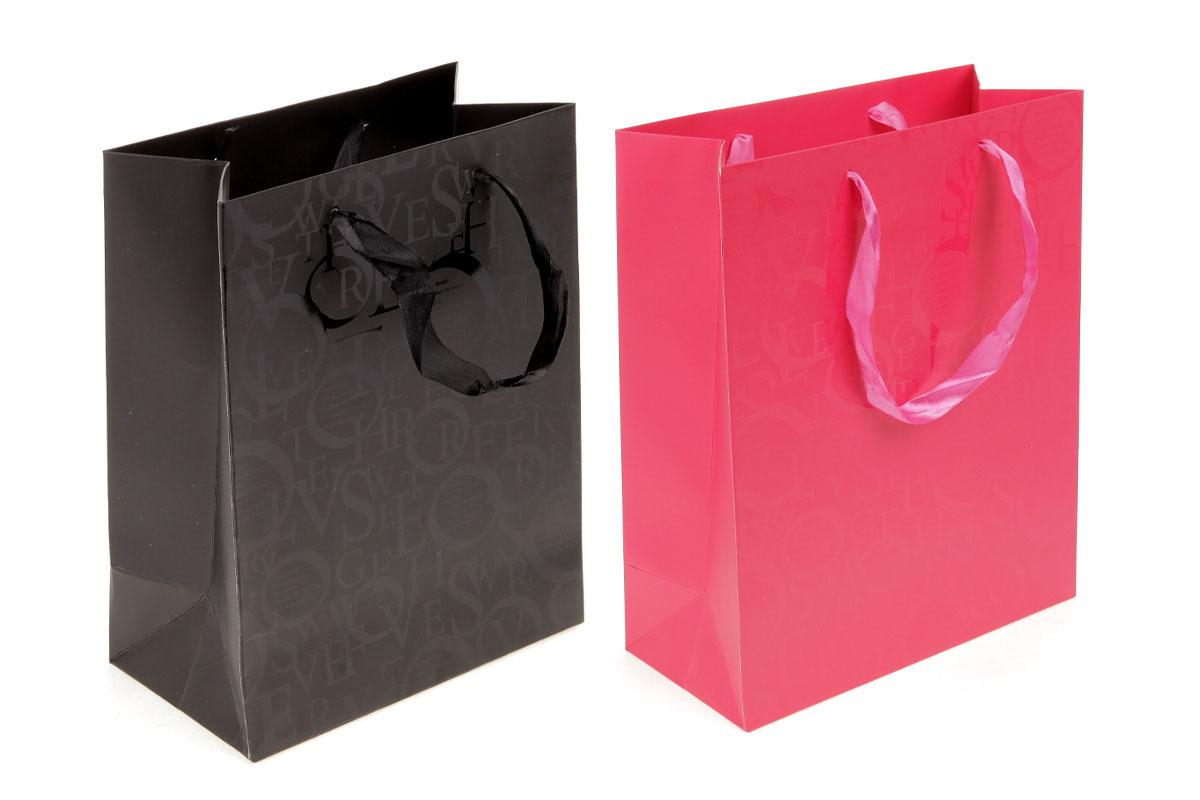 Darčeková papierová taška, mix 2 vzorov