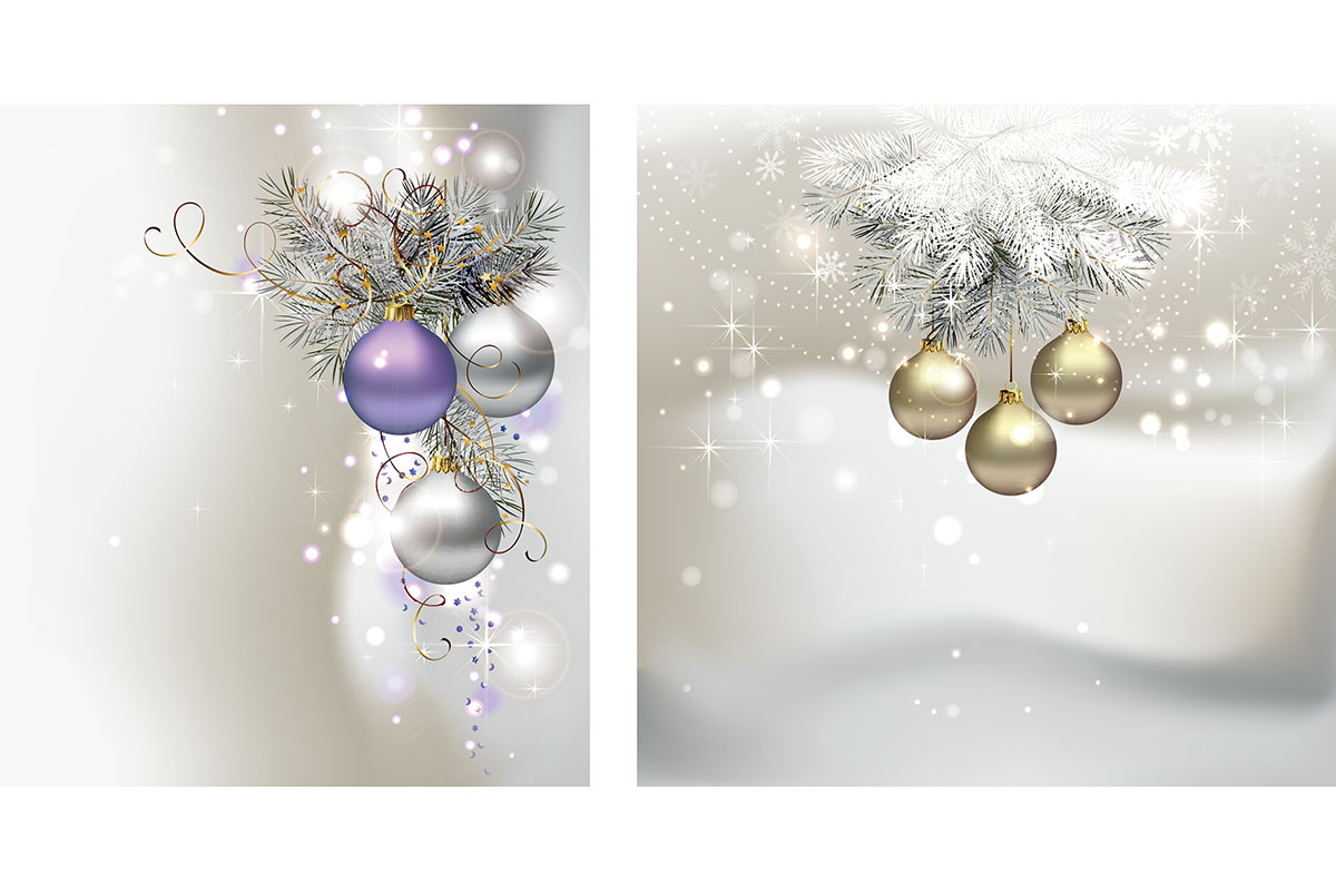 Papierová taška malá, vianočný motív