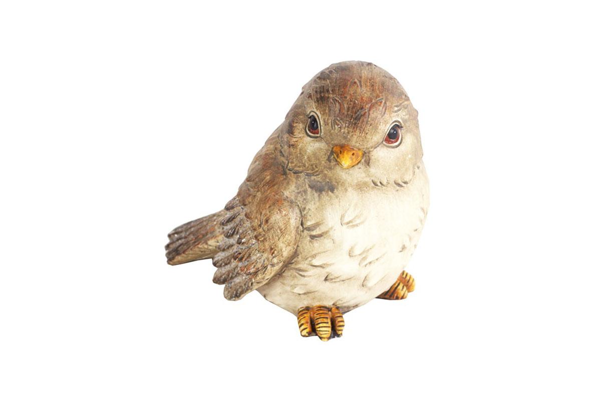 Vtáčik, dekorácia z polyrezinu