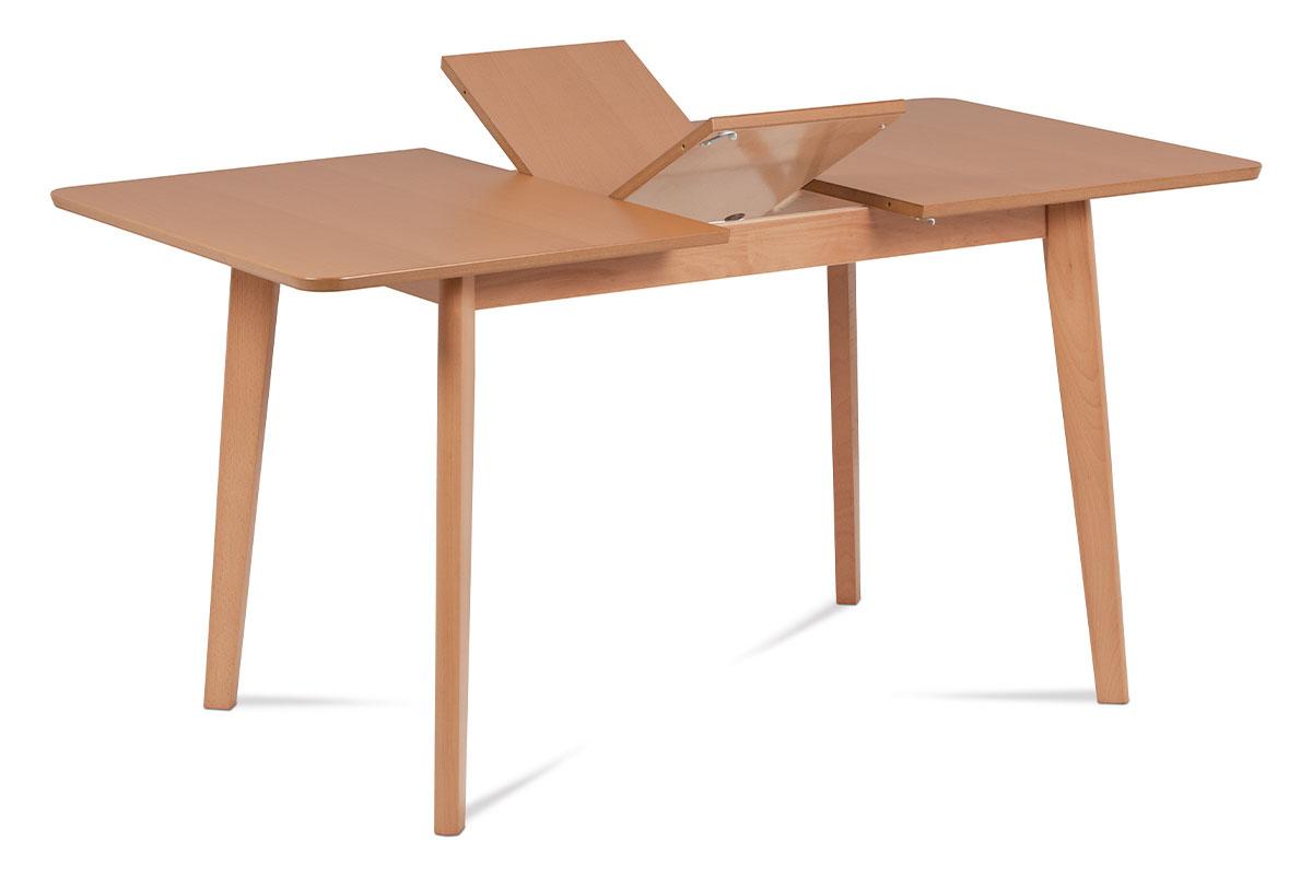 jedálenský stôl,rozkládací 120+30x80, farba buk