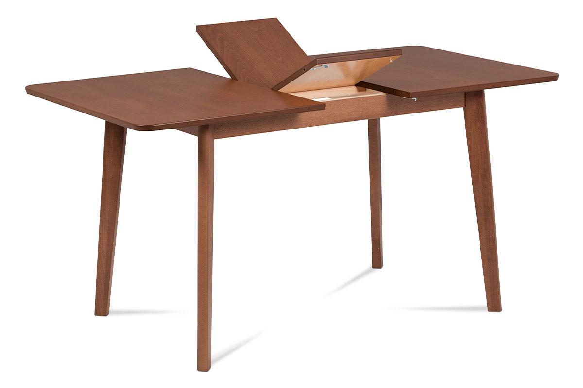 jedálenský stôl,rozkládací 120+30x80, farba čerešňa