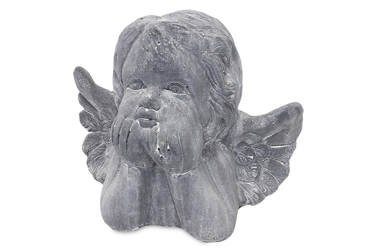 Anjel, betónová dekorácia