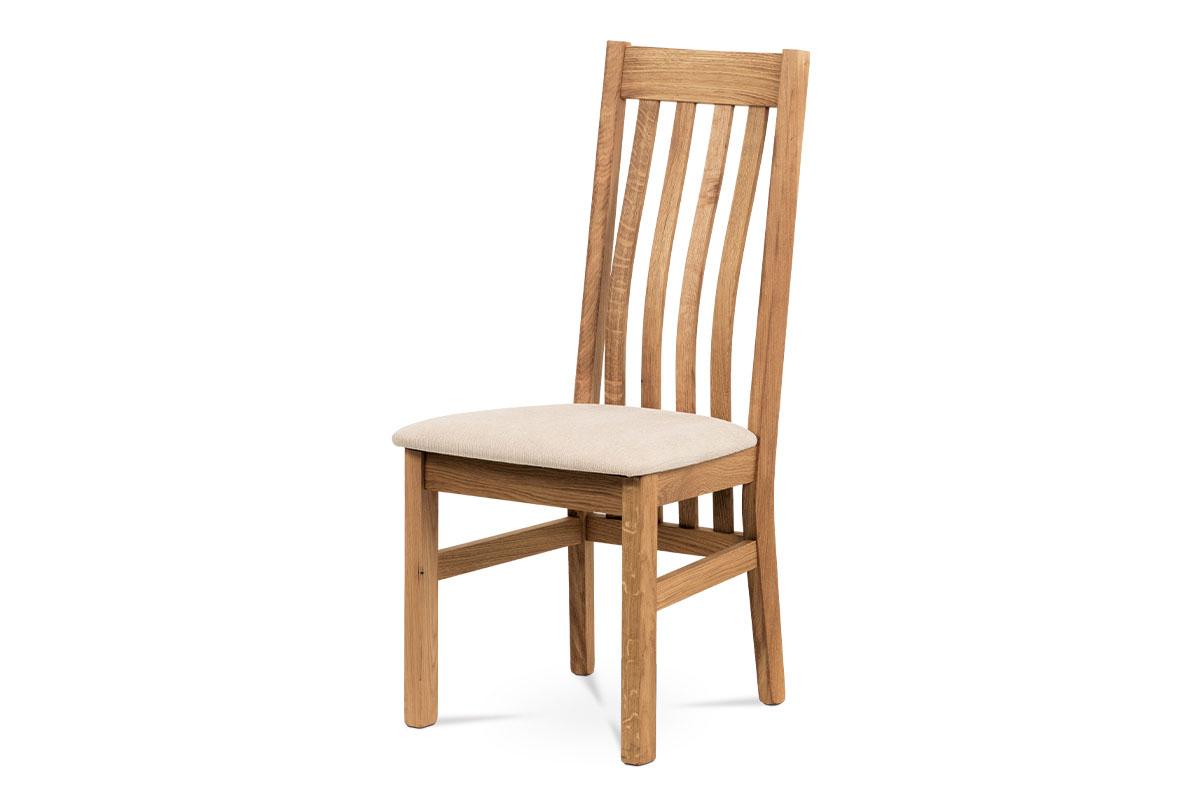 jedálenská stolička, bez sedáku, masív dub