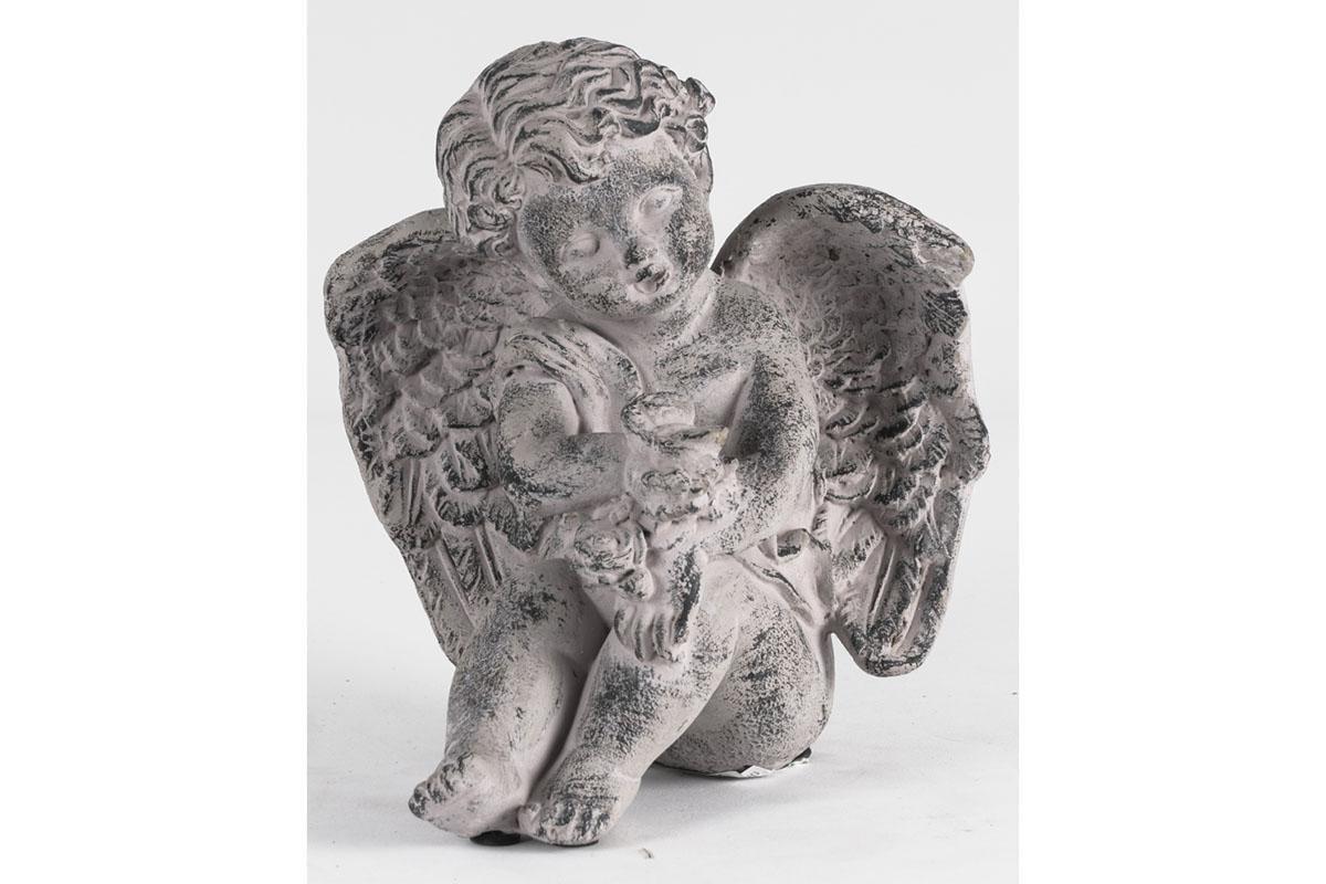 Anděl, dekorace z betonu