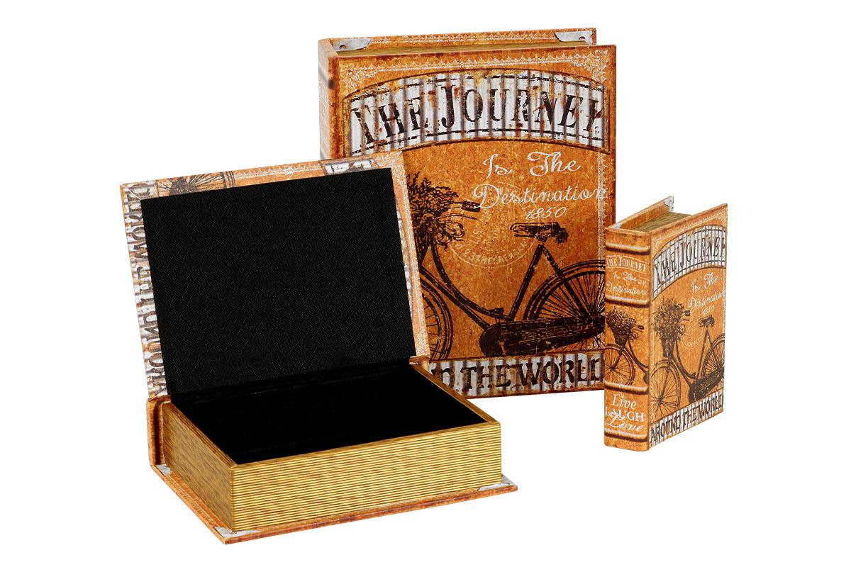 Krabička ve tvaru knihy, sada 3 kusy - FK3016