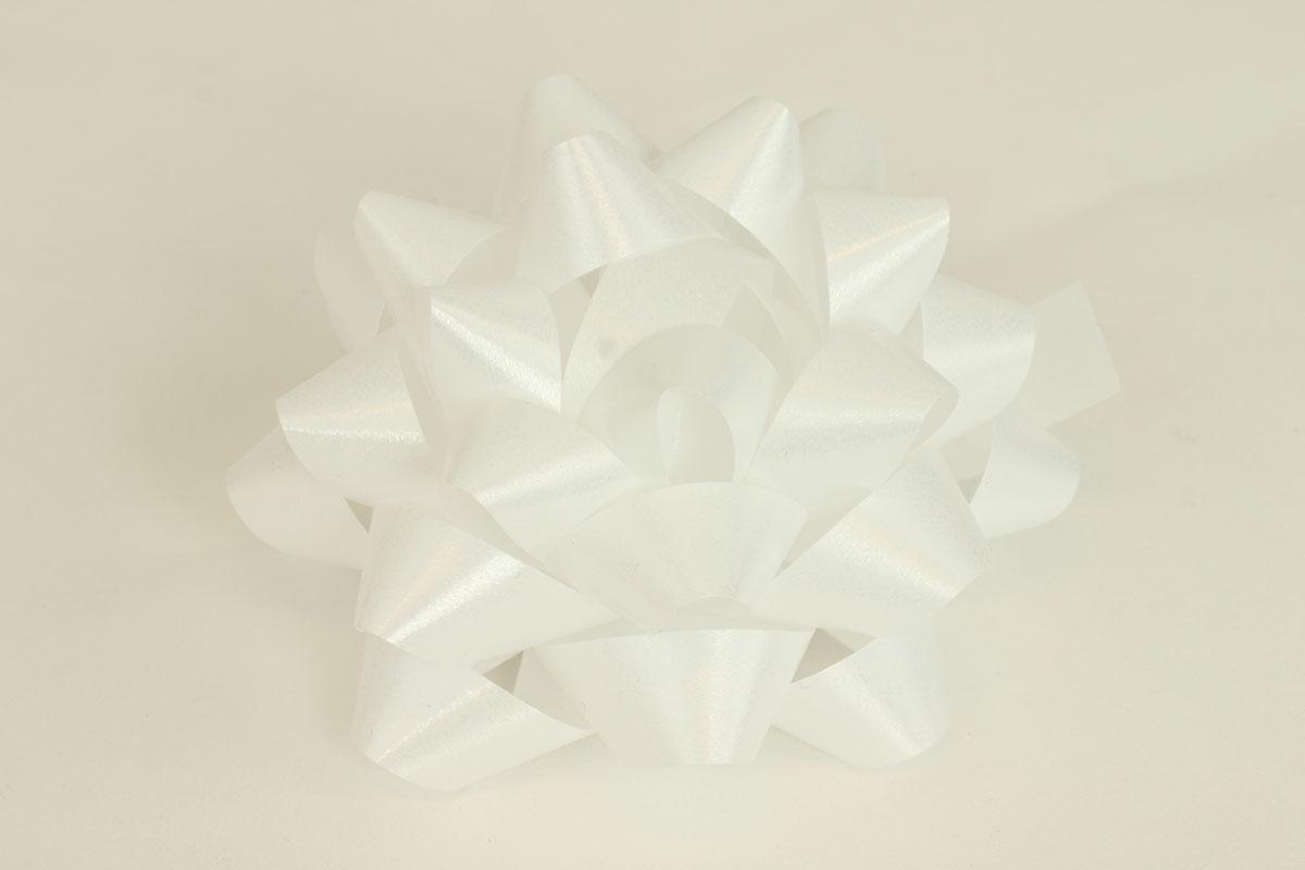 Rosetka samolepící velká, barva bílá
