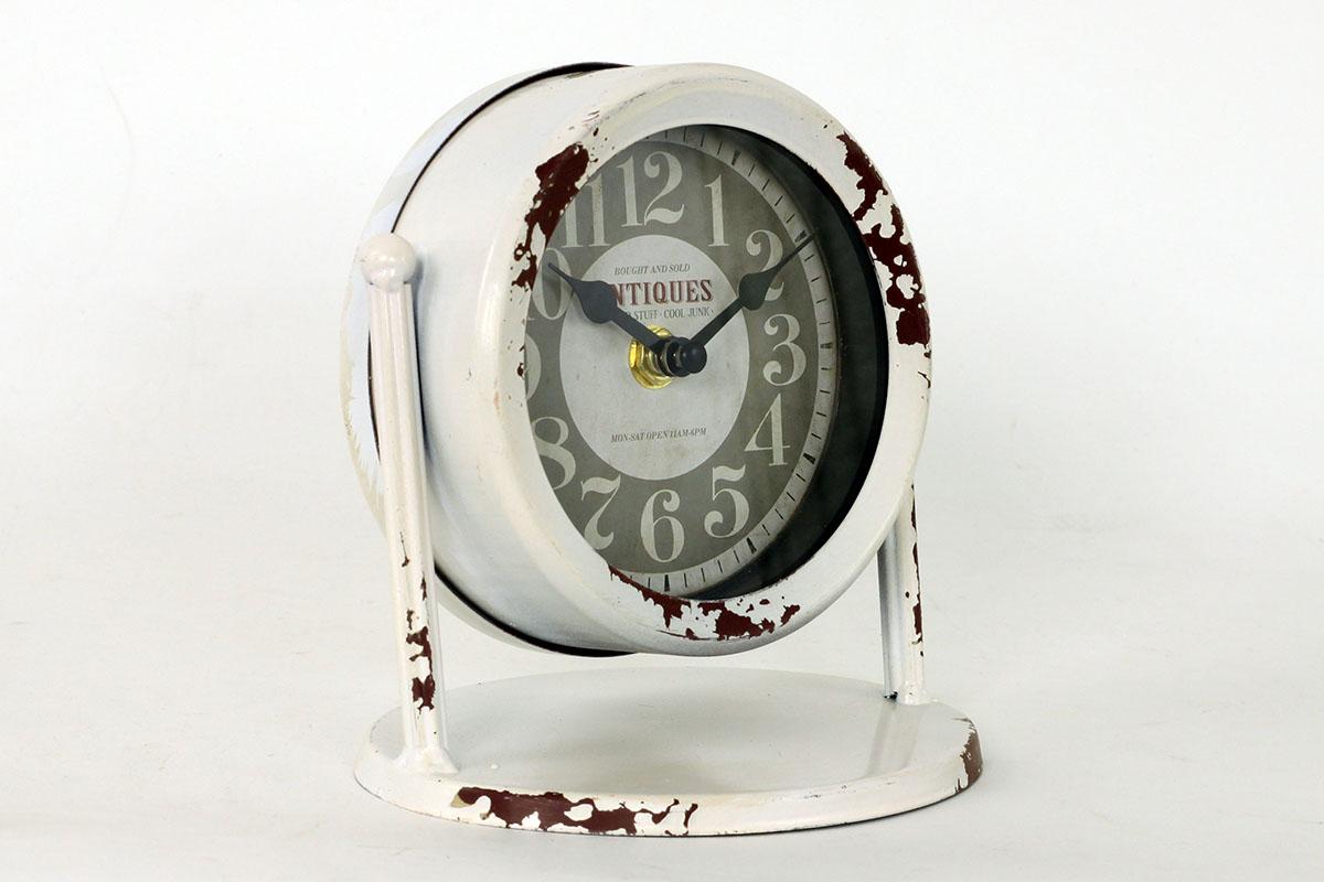 Kovové stolové hodiny