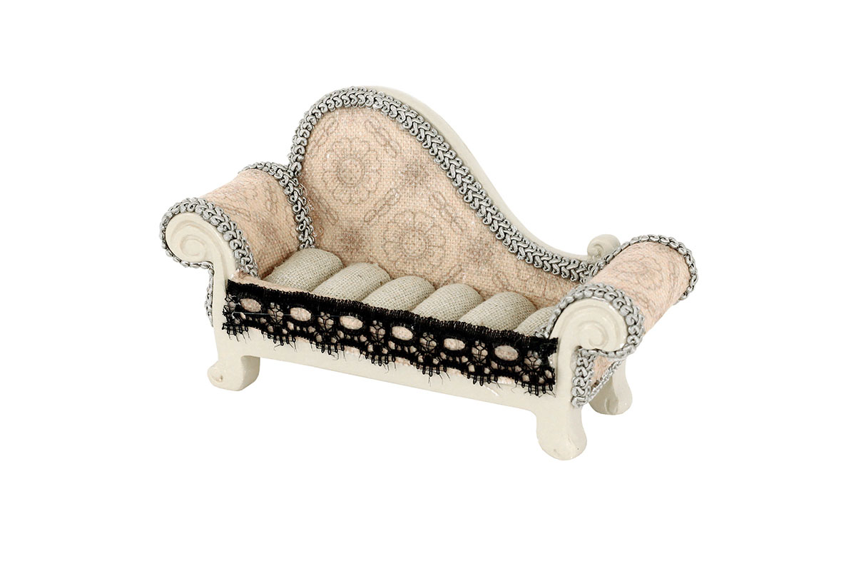 Stojan na prstienky - sofa