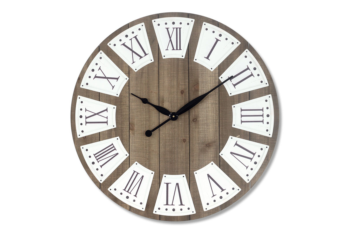 Nástenné hodiny MDF, 70cm