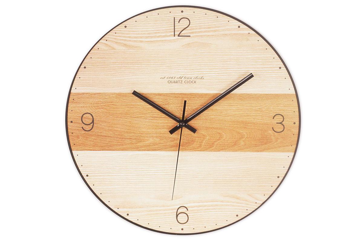 Nástenné hodiny MDF, 30cm