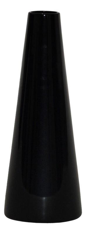 Keramická váza čierna