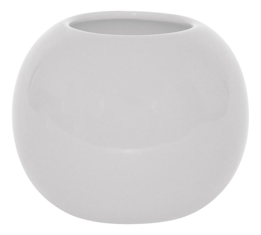 Váza keramická biela