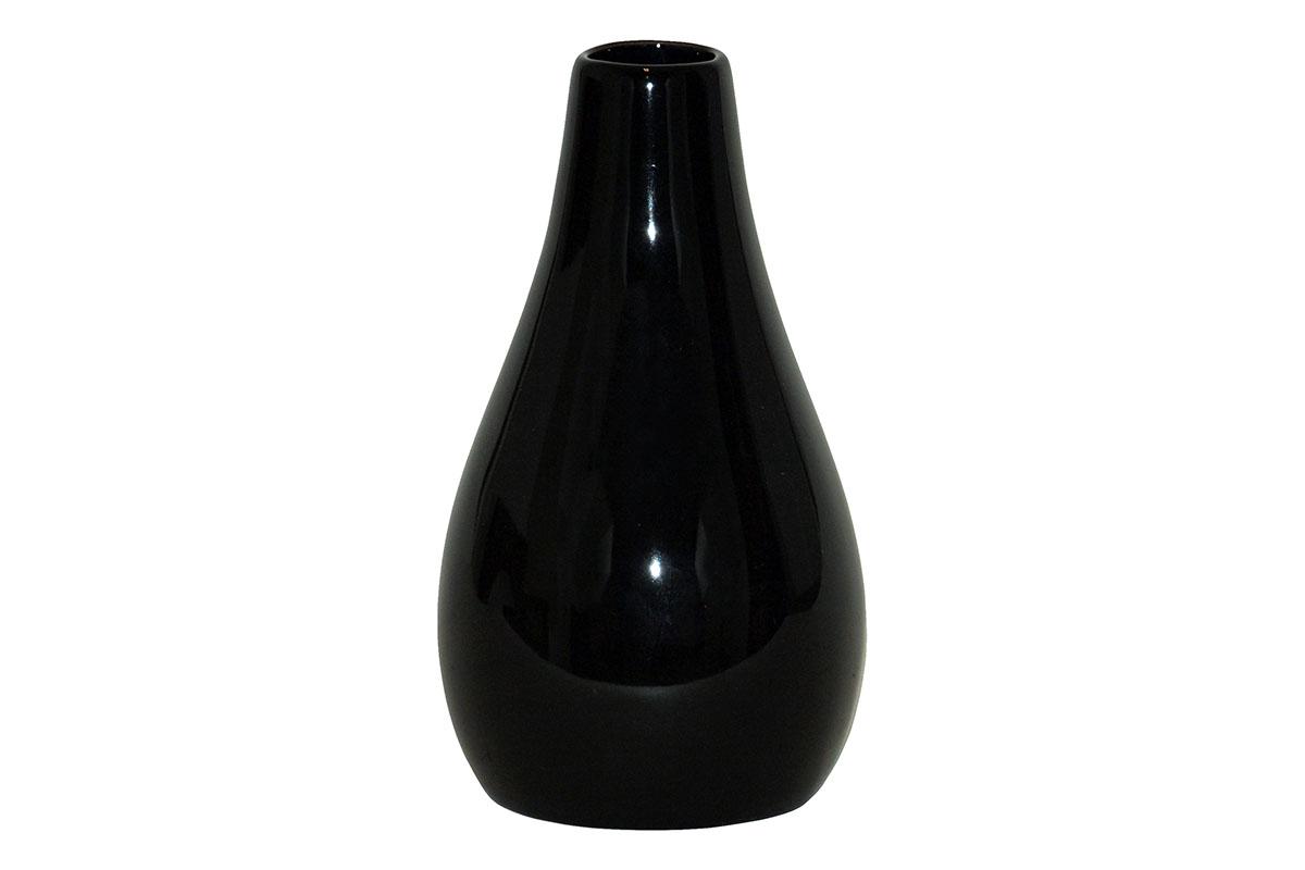 Váza keramická čierna