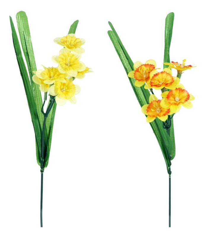Umelý kvet - narcis