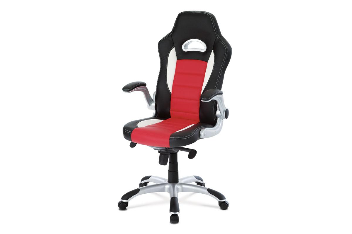 Kancelárske kreslo KA-E240B RED
