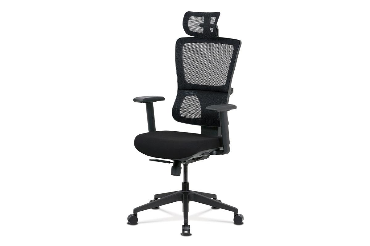 Kancelárská stolička KA-M04 BK čierná