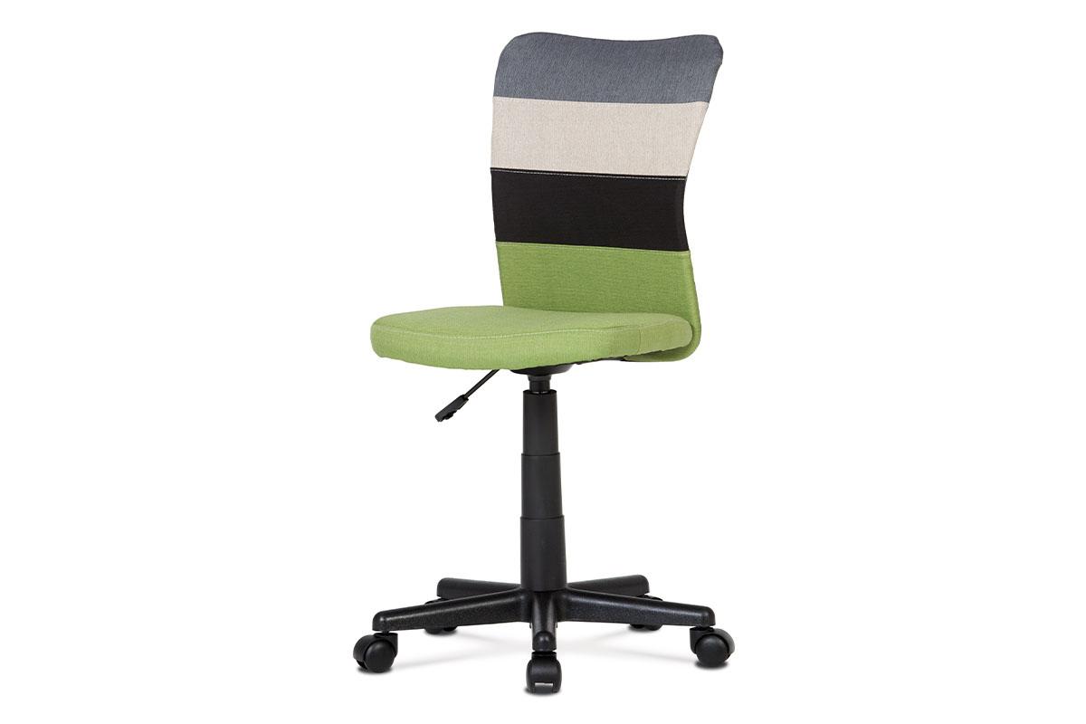 kancelárska stolička, mix farieb-KA-N837 GRN