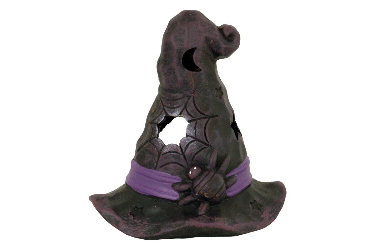 Keramický klobúk na čajovú sviečku