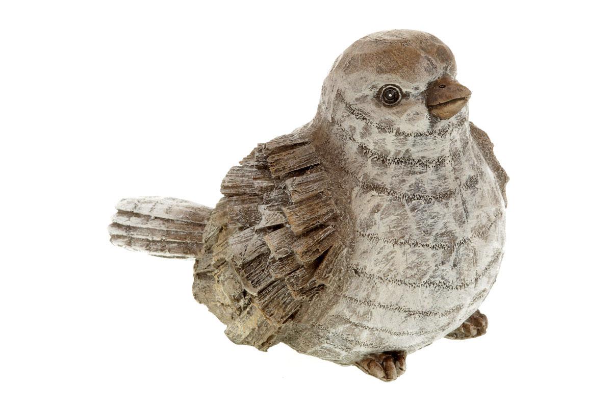 Ptáček, polyresinová dekorace
